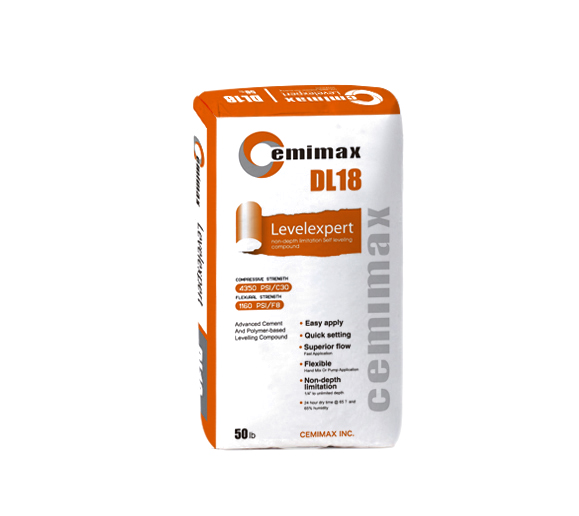 Cemimax DL18 self-leveling underlayment